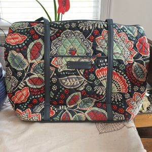 Vera Bradley Small Trimmed Nomadic Floral Tote